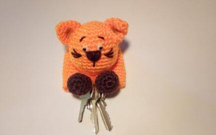 Lindo crochet amigurumi panda llavero pequeño animal hecho a | Etsy | 272x436