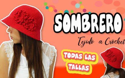 2ea7a8944d924 Gorro – Sombrero tejido a Crochet o Ganchillo