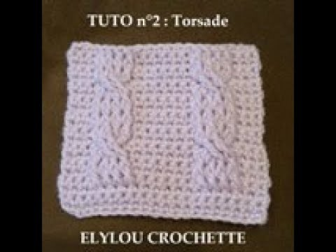 Tuto Cours 40 Point Torsade Au Crochet Crochet Tutorial