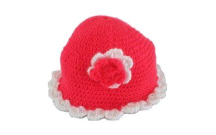 Cómo tejer un gorro para bebe niña en crochet 1 hora 67d187a9871