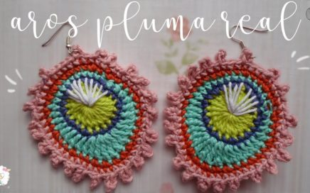 código promocional 884ba 3e561 Aretes y Pendientes | Crochet.eu
