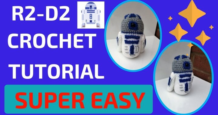 R2-D2 amigurumi! Creating a pattern from SCRATCH! -- Twitch stream ... | 380x720