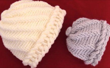 aprende hacer un gorro tejido con Gancho Crochet de argollas gruesas 82cb72283e3