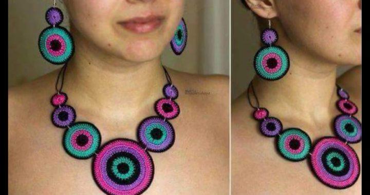 Hermosa Collares Tejidos A Crochet Crocheteu