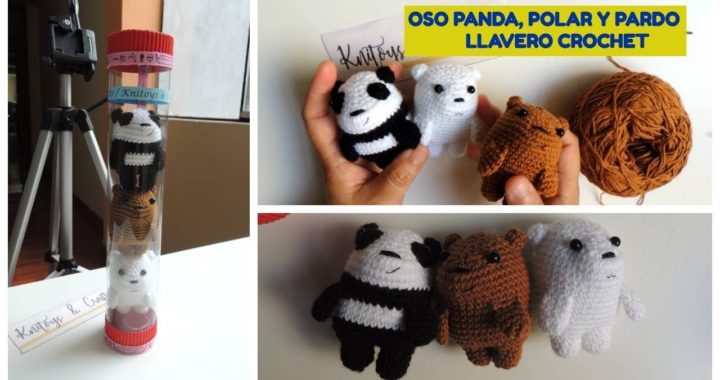 Oso panda Amigurumi, crochet paso a paso - YouTube   380x720