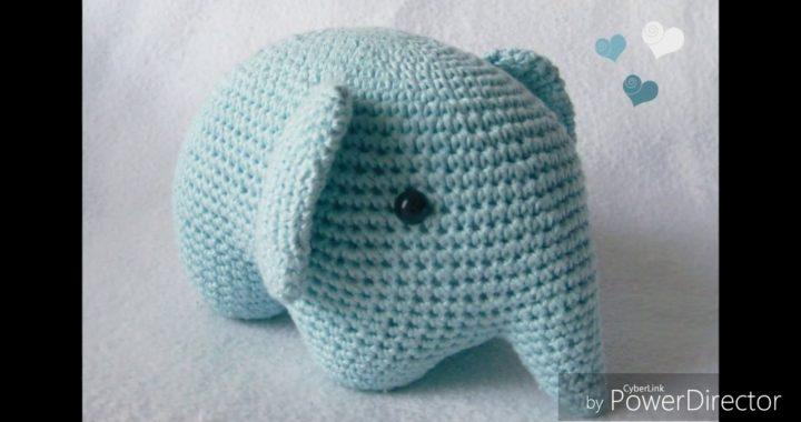 Elefante Amigurumi | 380x720