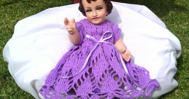 Ropón Para Niño Dios Tejido A Crochet Crocheteu