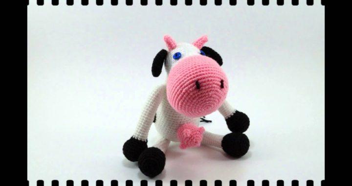 Mucca Uncinetto - Amigurumi Tutorial- Cow Crochet - Vaca Croche ... | 380x720