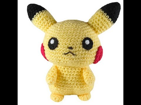 Ravelry: Kawaii Pikachu plush pattern by Miki H Kim | 360x480