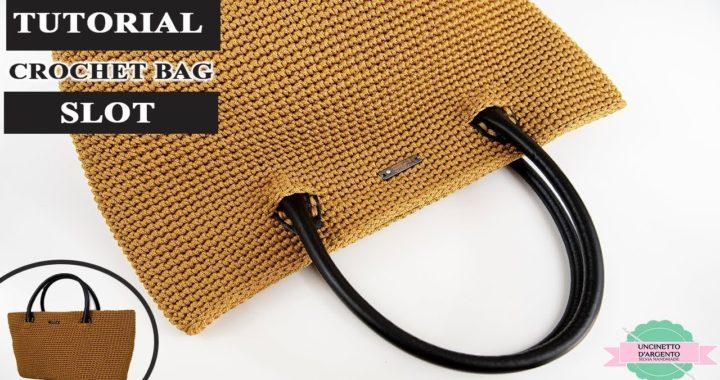 Tutorial Borsa Uncinetto Slot Crochet Diy Bag With Sub