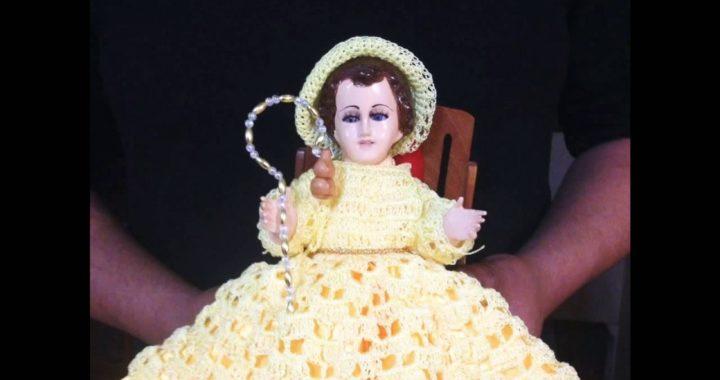 Vestido De Niño Dios Tejido A Crochet Crocheteu
