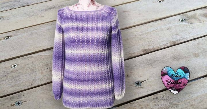 Concours Pull Violeta Toutes Tailles Lidia Crochet Tricot