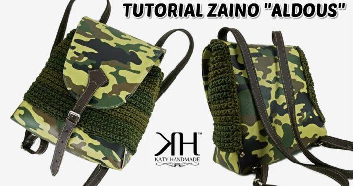 Tutorial Borse Uncinetto Zaino Aldous Crochet Uomodonna Katy