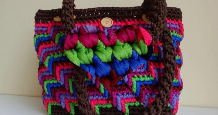 f11c9a421 bolsos,carteras hermosos tejidos a crochet trapillo | Crochet.eu