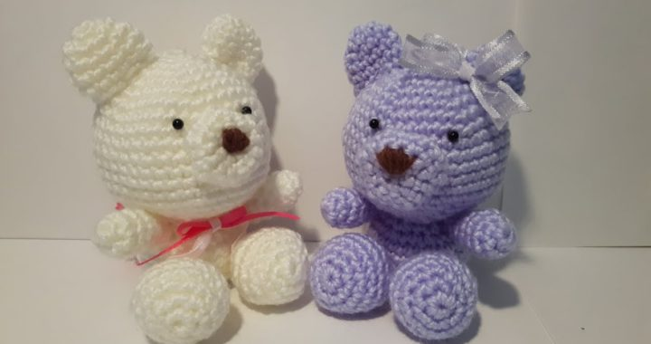 Come realizzare un Orsetto Amigurumi all'uncinetto - Schema Gratuito | 380x720