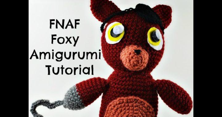 Ravelry: FNAF Foxy Amigurumi pattern by Codi Hudnall | 380x720