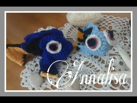 Amigurumi | Nemo en Crochet, Tsum Tsum | Bibi Crochet - YouTube | 360x480