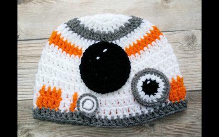 47e11ec50 Gorro Inspirado por Star Wars en crochet ( Video 1)
