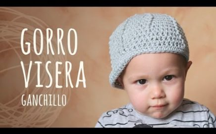 Tutorial Gorro Con Visera Ganchillo  8f85c118cb3