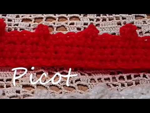 Crochetla Maille De Picots Comment Faire Le Point De Picots