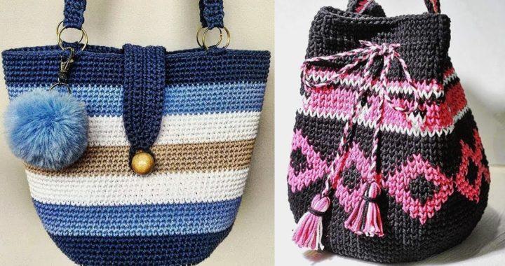 Bolsos Tejidos A Crochet Crochet Tejidos Como Tejer Bolsos A