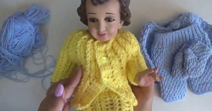 Gorro A Crochet Conjunto De Niño Dios Tutorial Tejido