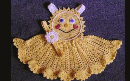 Vestido Crocheteu