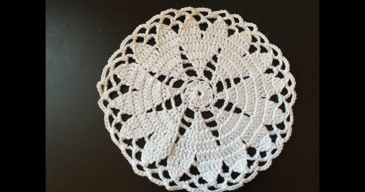 Tuto Napperon Coeur Au Crochet Crocheteu