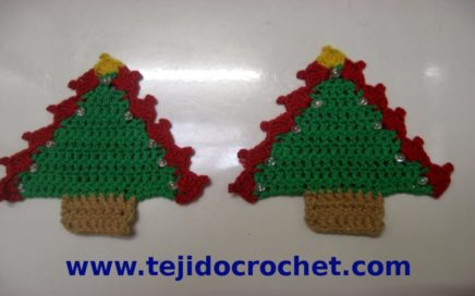 Árbol de Navidad a crochet paso a paso | Manos con alma | 272x436