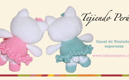 Patron Amigurumi Hello Kitty Angel - Saekita Ganchillo | 272x436