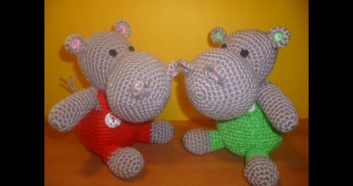 Ippopotamo Uncinetto Amigurumi Tutorial Hippopotamus Crochet