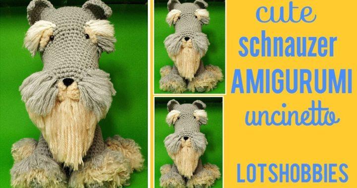 Cane bassotto uncinetto amigurumi, Dachshund dog crochet (english ... | 380x720