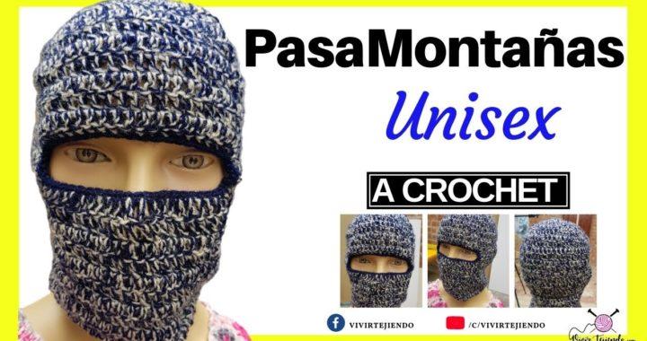 Tejiendo Pasamontañas a Crochet Paso a Paso  e0fc7357e99