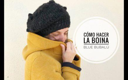 fb8dbb2e92c98 Cómo hacer nuestra boina Blue Bubalú. Ganchillo Crochet. Fácil y rápida
