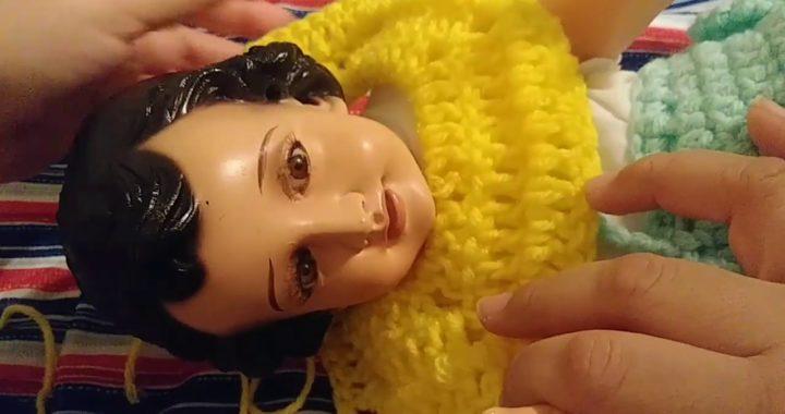 Crochet Vestido Niño Dios Facil Completo Ganchillo