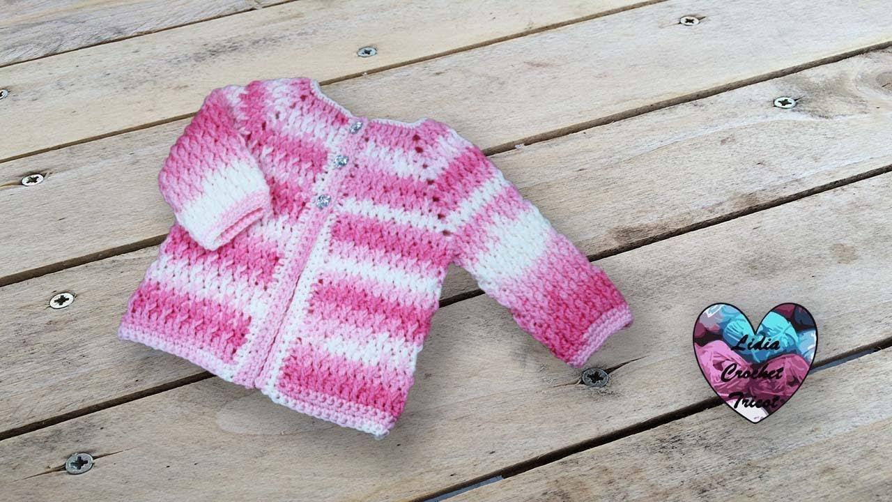 Brassière Veste Crochet Unisexe Lidia Crochet Tricot