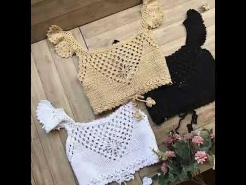 Blusas Moda Crochet Ganchillo 2018 2019 Crocheteu