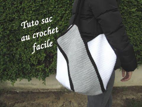 Tuto Sac Au Crochet Facile Easy Bag Crochet Bolso Crochet