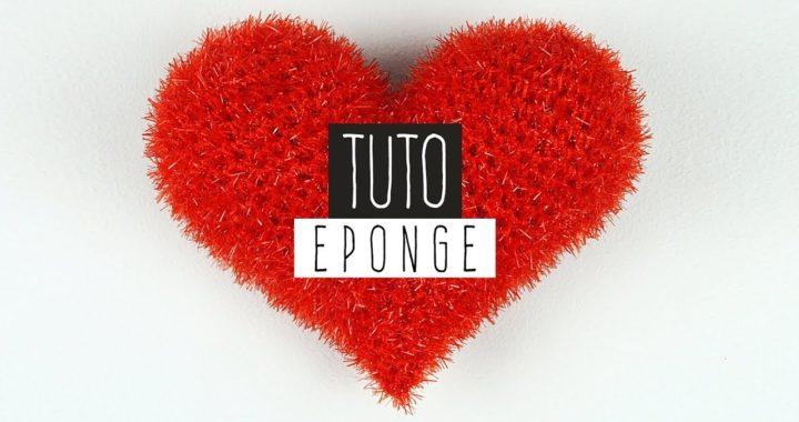 Tuto Cadeau Crochet Saint Valentin Eponge Coeur Creative