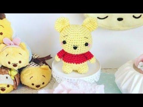 Patrón amigurumi gratis de Winnie the pooh pequeño - amigurumis y más | 360x480