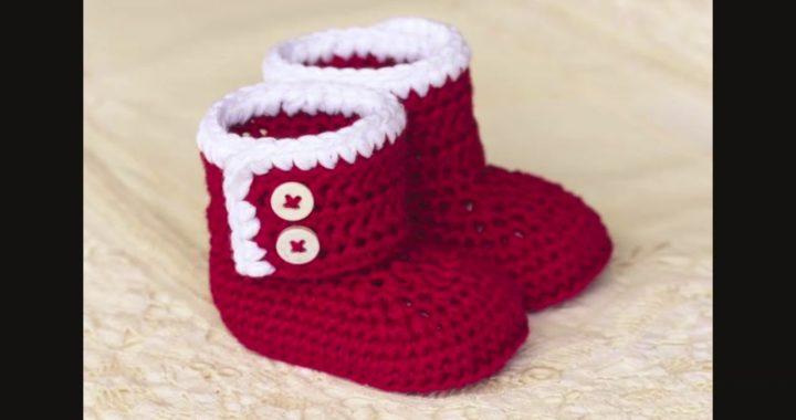 bfda1508438d Zapatos ,botines y Gorros para BEBE Tejidos a Crochet Grande ...