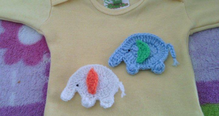 Elefante Animal Bebé Deco Amigurumi Crochet Muñeco De Apego ...   380x720
