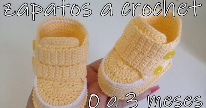 eu A – 0 3 Zapatos Bebe Crochet Para Meses TejidoCrochet UVzMpSqG