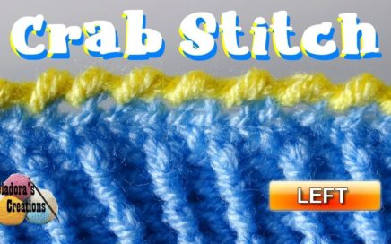 How to do the Crab Stitch in Crochet – Left Handed Crochet Tutorial ff603fedf0e
