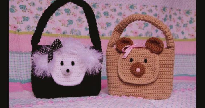 super popular verdadero negocio venta limitada Bolsos para niñas tejidos a Crochet | Crochet.eu
