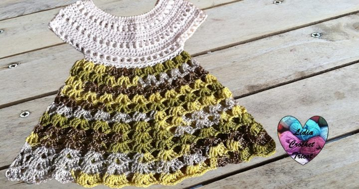 Robe Bébé Crochet 12 Baby Dress Crochet English