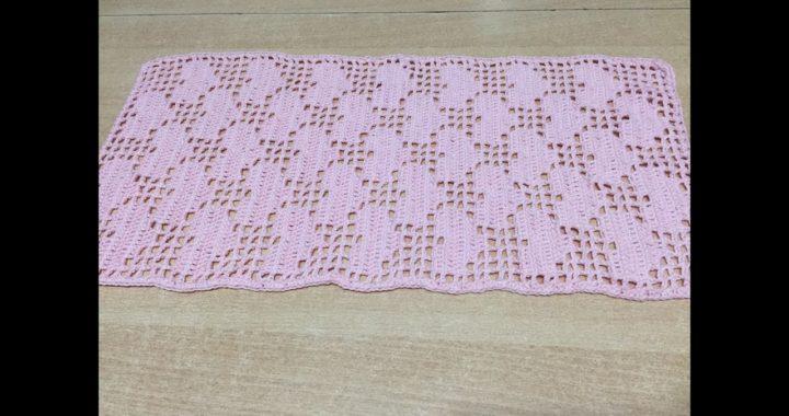 Tuto Chemin De Table Tapis Coeur Au Crochet Crocheteu