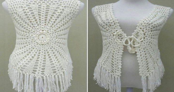Bellos Chalecos Tejidos A Crochet Crocheteu