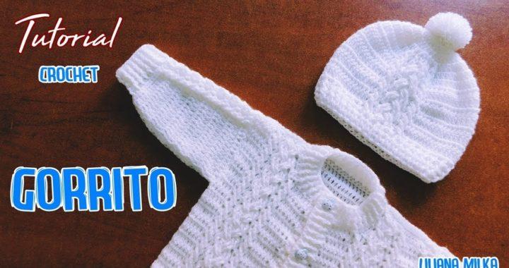 4938a0f39 Como tejer un gorro para bebe a crochet – ganchillo