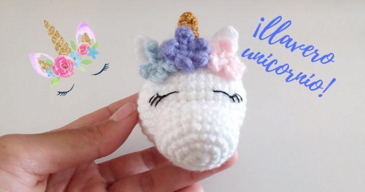 Crochet eu A Amigurumi Llavero PasoCrochet Unicornio 3F1TJlKc